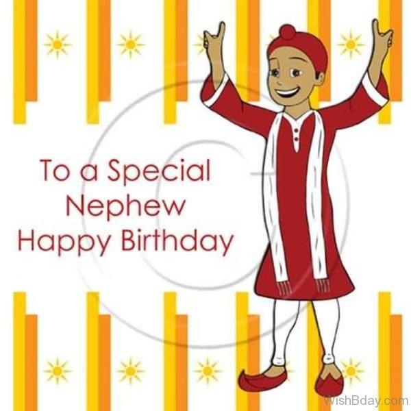 TO A Special Nephew Happy Birthday