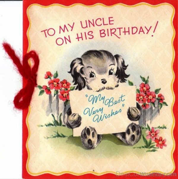 TO My Uncle Happy Birthday