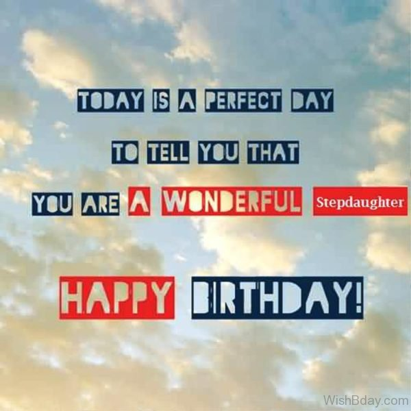 TOday Is The Perfect Day Happy Birthday