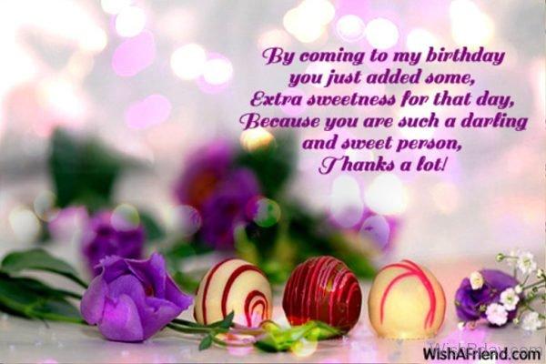 Thank A Lot