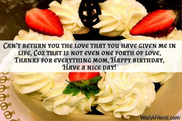 Thanks For Everything Mom 1
