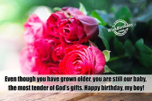 The Most Tender Of God's Gifts – Happy Birthday Boy