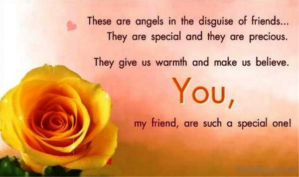 These Are Angels In The Disguse Of Friends