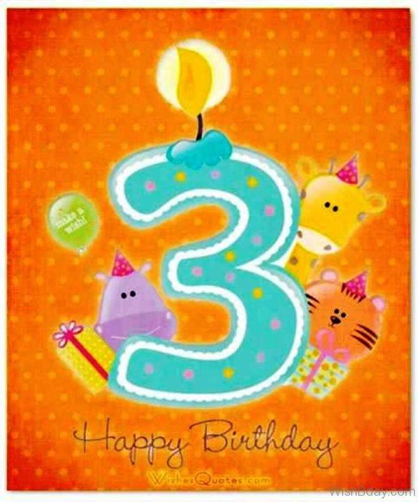 Third Birthday Wishes