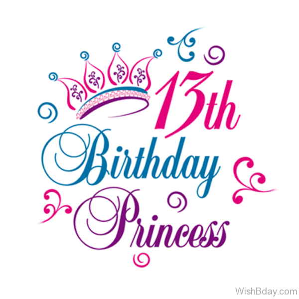 Thirteen Birthday Princess