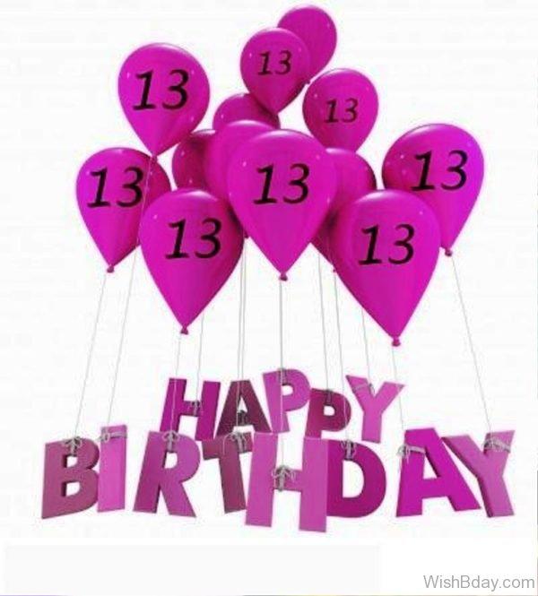 Thirteen Birthday Wishes