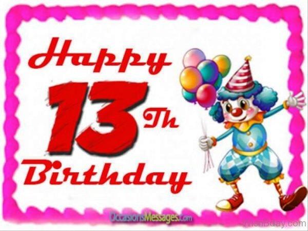 Thirteenth Birthday Image