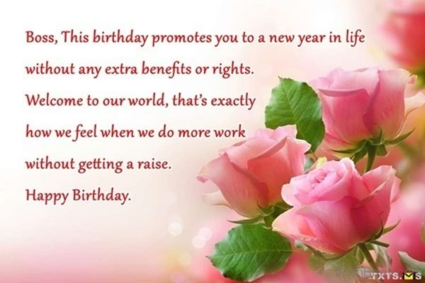 This Birthday Promotes You To A New Year In Life Without Any Extra Benifits