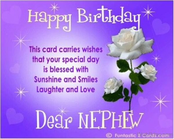This Card Carries Wishes That Your Special Day Is Blessed With Sunshine