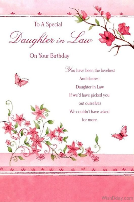 To A Special Daughter In Law 1