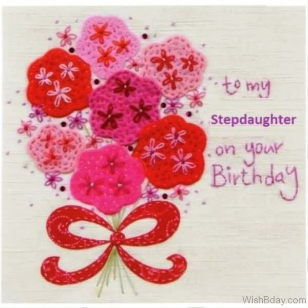 To My Stepdaughter On Your Birthday