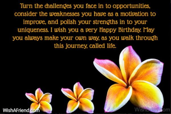 Turn The Challenges You Face In To Opportunities