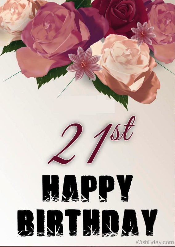 Twenty First Happy Birthday