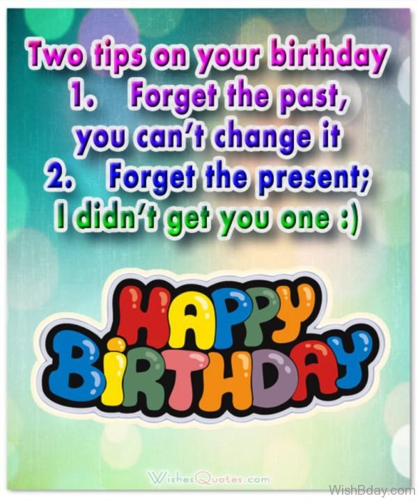 Two Tips On Your Birthday