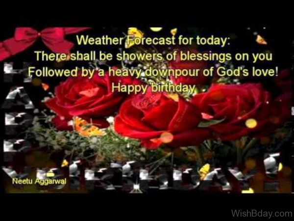 Weather Forecast For Today