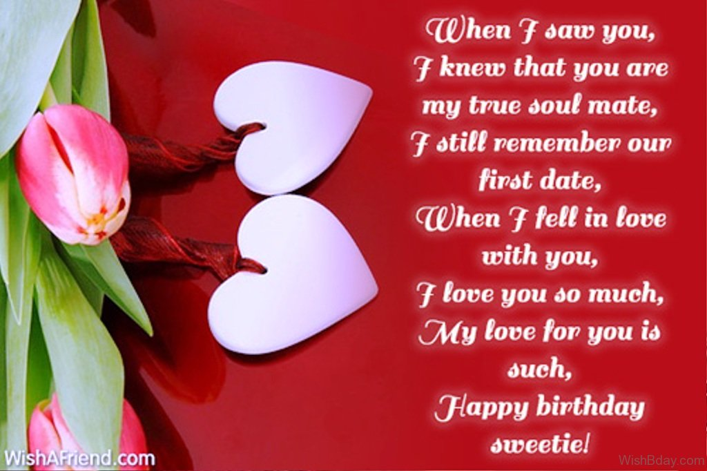 52 birthday wishes for wife when i saw you i knew that you are my true soul mate m4hsunfo