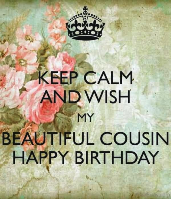 Wish My Beautiful Cousin Happy Birthday