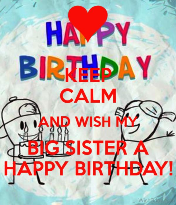 Wish My Big Sister A Happy Birthday 1