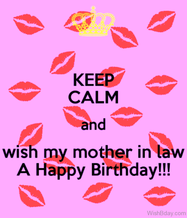 Wish My Mother In Law A Happy Birthday