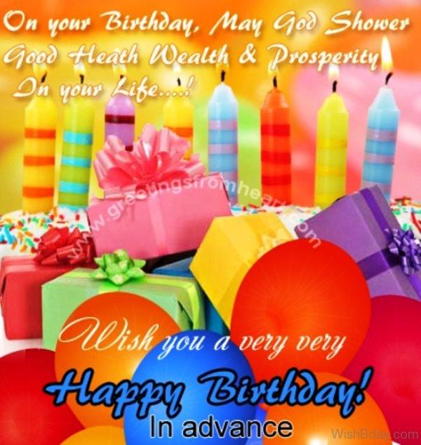 Wish You A Very Very Happy Birthday
