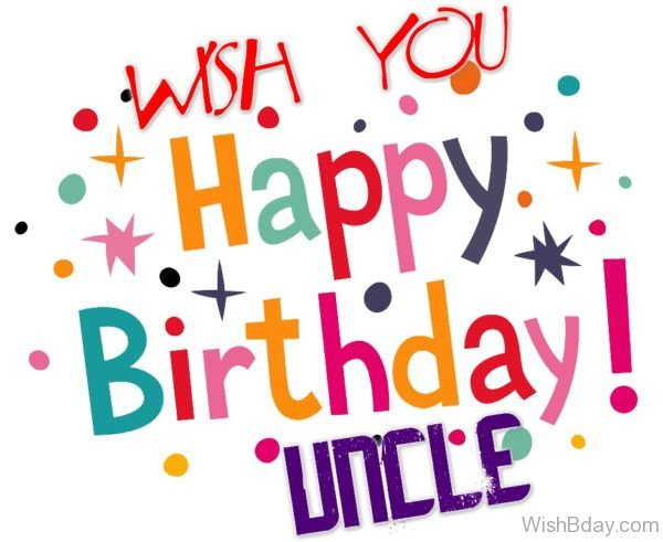 Wish You Happy Birthday Uncle