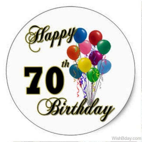 Wishes For Seventy Happy Birthday 2