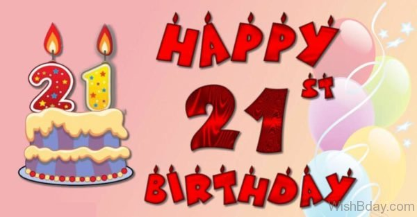 Wishes For Twenty First Birthday 1