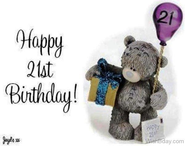 Wishes For Twenty First Birthday