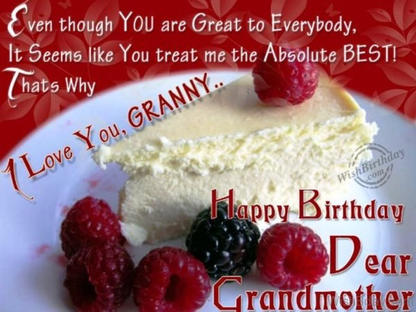 Wishing A Great Birthday To My Great Grandmother