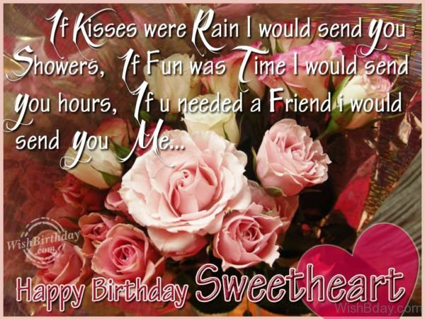 Wishing Happiest Birthday To My Love
