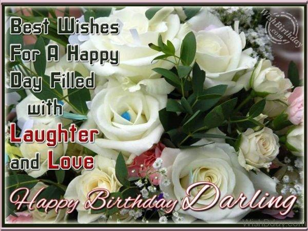 Wishing Happy Birthday My Love