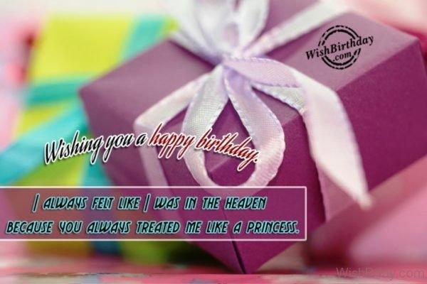 Wishing You A Happy Birthday 1