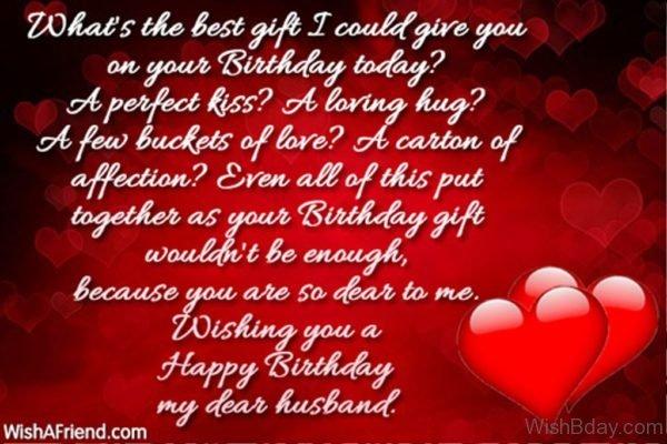 Wishing You A Happy Birthday My Dear Husband