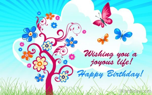 Wishing You A Joyous Life