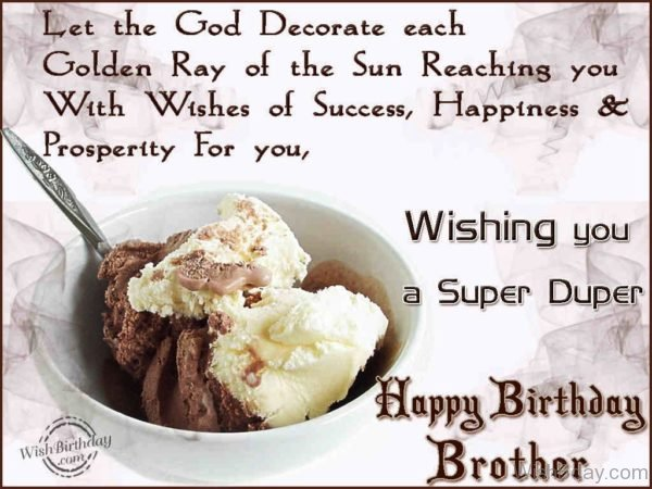 Wishing You A Super Duper Happy Birthday