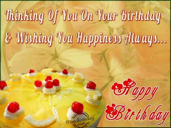 Wishing You A Very Happy Birthday 1