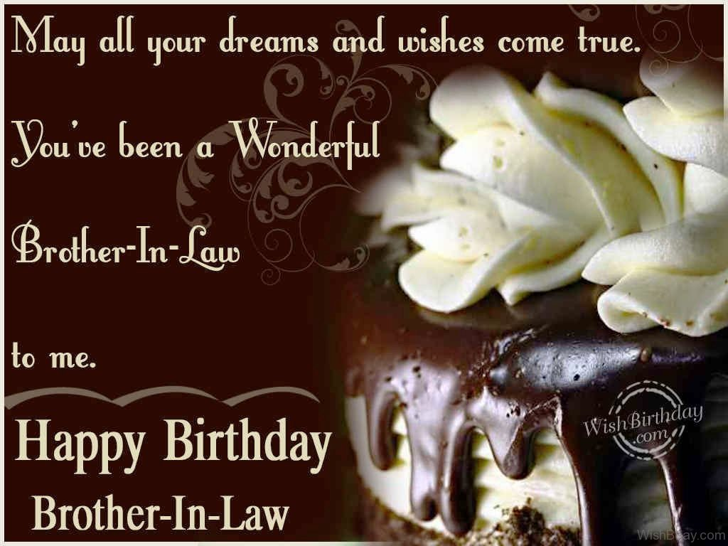 54 Birthday Wishes For Brother In Law