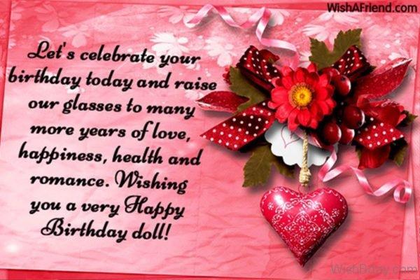 Wishing You A Very Happy Birthday Doll 1