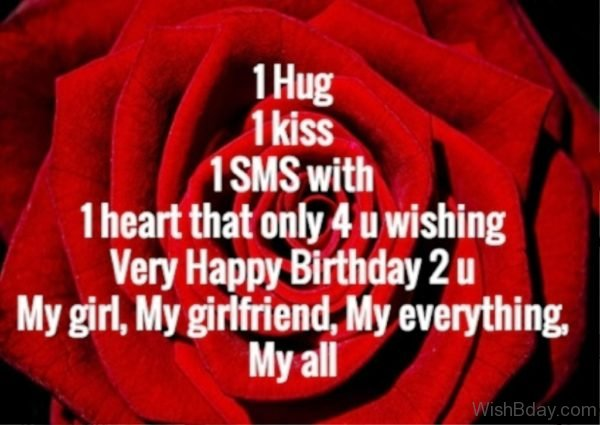 Wishing You A Very Happy Birthday To You My Girlfriend