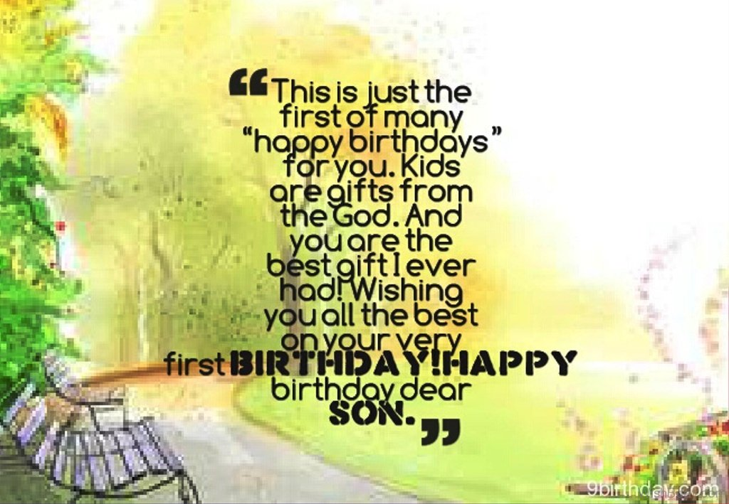 Birthday Quotes For My First Born Son: 59 Birthday Wishes For Boy