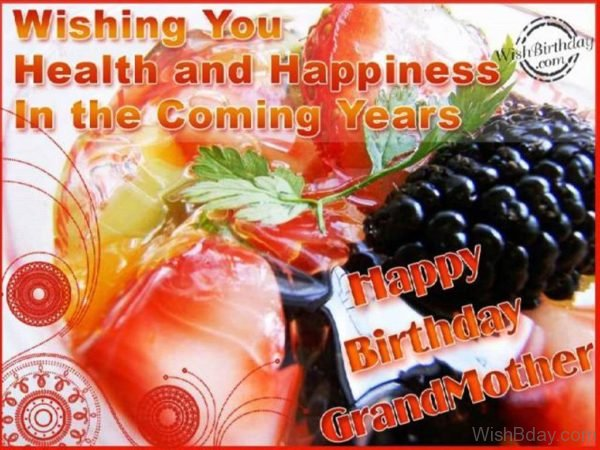 Wishing You Health And Happiness In The Coming Years