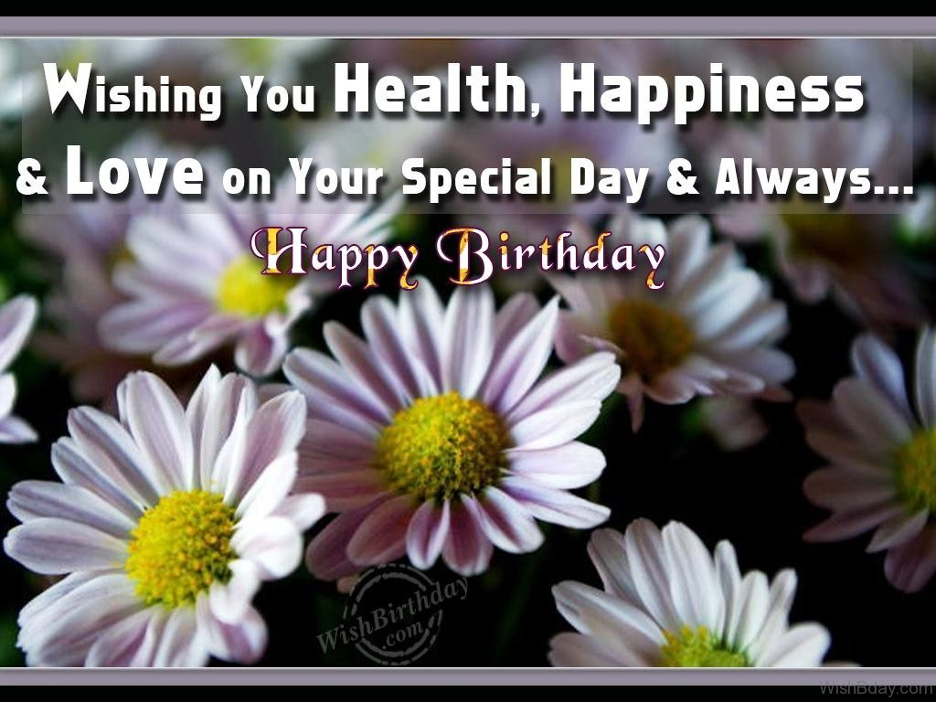 Wishing You Health Happiness And Love On Your Special Day