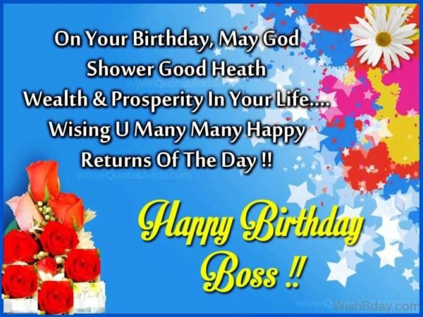 Wishing You Many Many Happy Return Of The Day