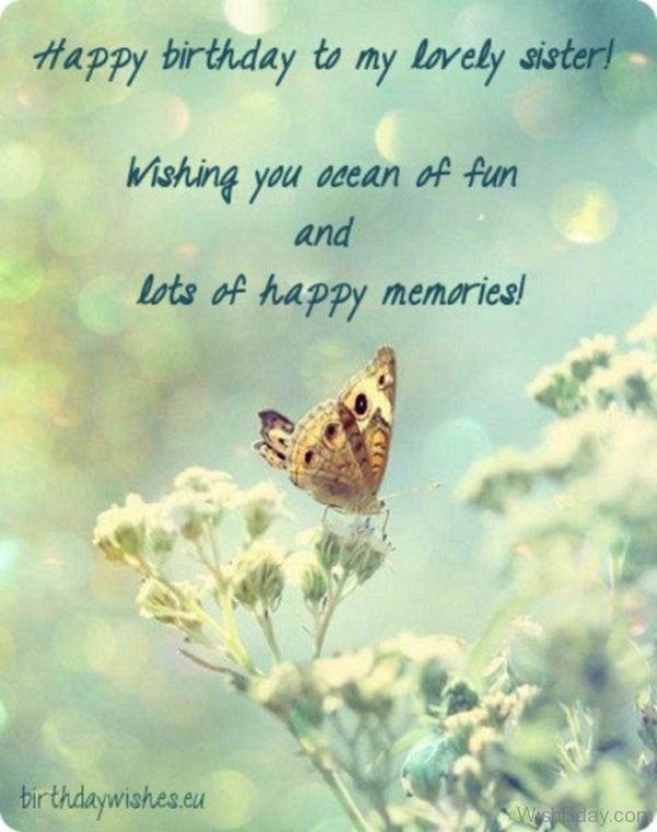 Wishing You Ocean Of Fun And Lots Of Happy Memories