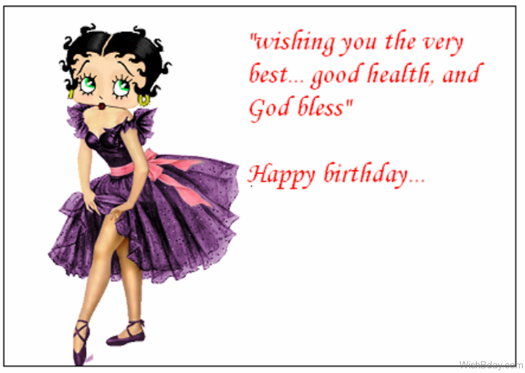32 Birthday Wishes Betty Boop Happy Birthday Wishes For A Dancer