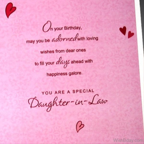 You Are A Special Daughter In Law 1