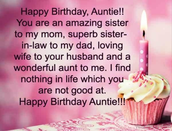 You Are An Amazing Sister To My Mom 1