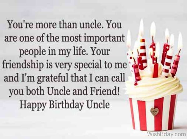 You Are More Than Uncle