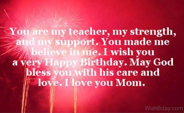 You Are My Teacher 1