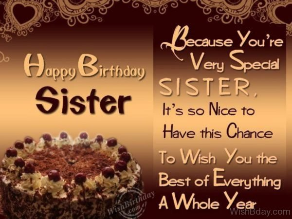 You Are Very Special Sister